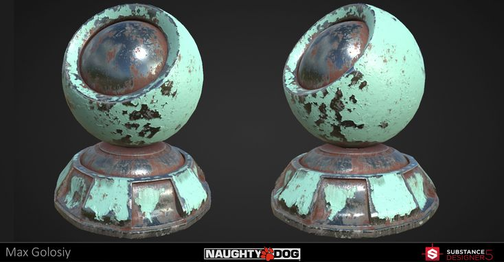 100% procedural graph made in Substance Designer Material tester model is property of Naughty Dog and made by Brad Smith
