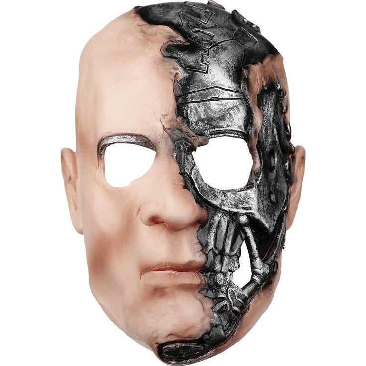 Máscara por #Terminator Salvation Máscara #Calavera #halloween #skull #disfraces #monster #zombies #vampiro #vampires #mask  en #empspain la mayor tienda online de Europa de Merchandising oficial de bandas de #Metal  #rock #HardRock  #Heavy  Ropa #Gotica  #Punk y todo lo que te hace falta para vivir el Rockstyle en toda su dimensión