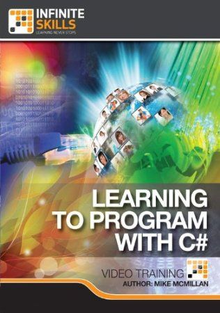 In this computer based training course on C#, teacher and author Mike McMillan introduces you to this powerful programming language. Using a simple to understand step by step method of learning, you will quickly grasp the components to allow you to write full fledged programs with C#. You will start with an introduction to the very basics of C#, variable types. You then move to learning about classes, how to handle data, logical operations, flow control and much more. Price: $39.98