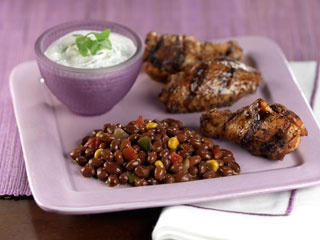 chicken wings green bean salads spicy bbq potatoes recipes spice rub ...