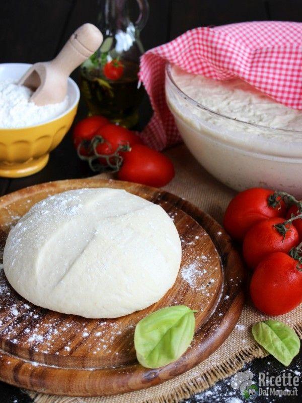 Základné cesto na pizzu, originálny taliansky recept - Impasto base per la pizza napoletana