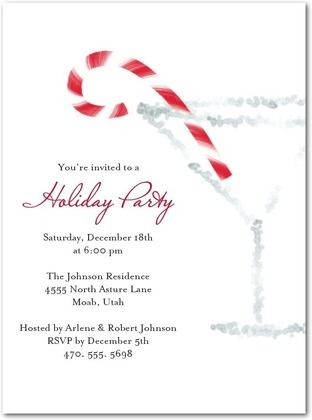 christmas cocktail party invitations 1
