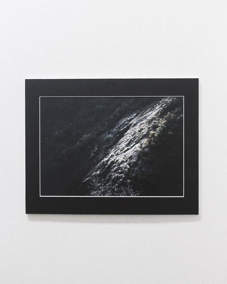 A touch of light on a slope of hill   // photographic print by Cedric of Cedric & Melody