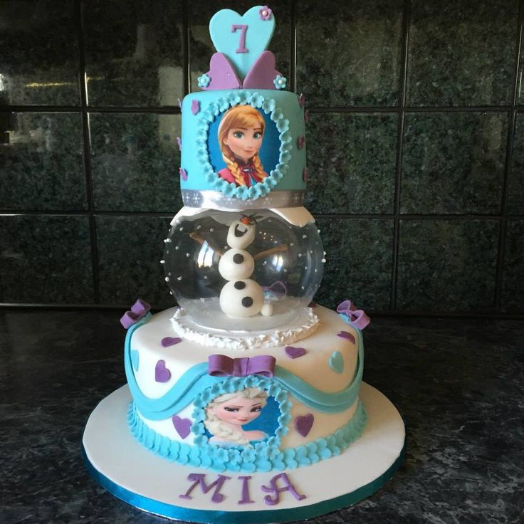 My latest frozen cake, I loved making this cake x