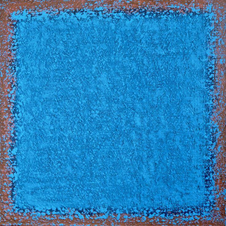 Solaris #120 - abstract art by Polish painter Jacek Sikora