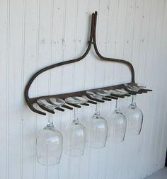 repurposed farm equipment - Google Search