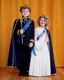 His and Her Royal Highness Costumes   Step-by-Step   DIY Craft How To's and Instructions  Martha Stewart