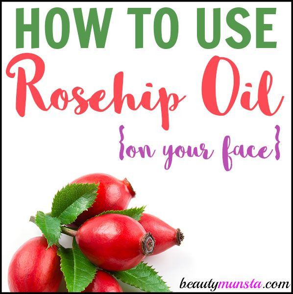 how to use rosehip oil the ordinary