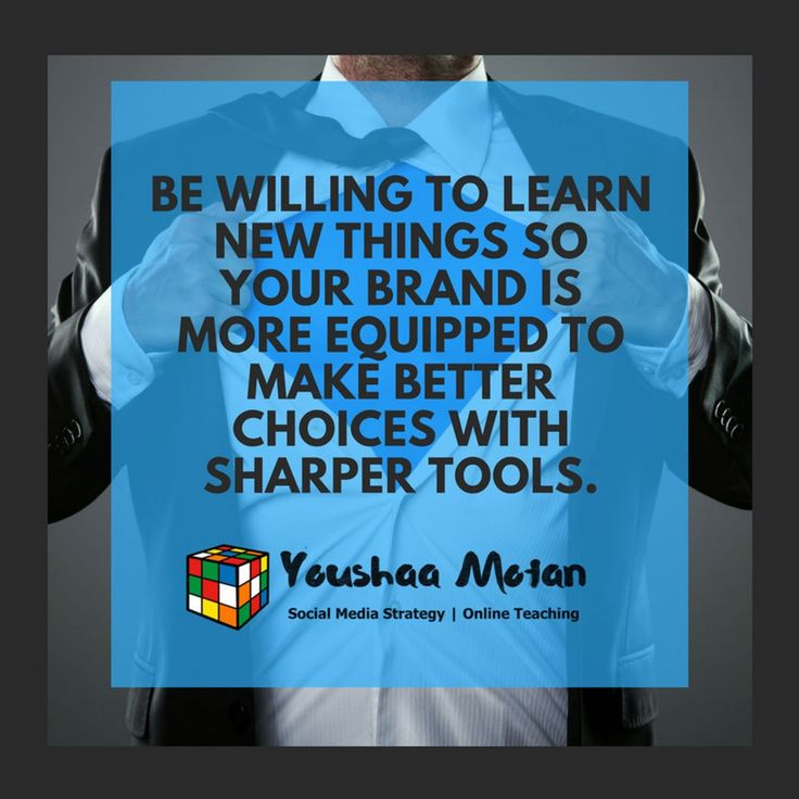 Be eternally open to learn new things so your brand is more equipped to make better choices and leaps forward with sharper and more dynamic systems and tools.  #digitalbranding #selfemployed #biz #businessidea #workfromhomedad #workfromhomemom #workfromanywhere #workfromhomelife #momboss #dadboss #mompreneur #dadpreneur #branding #contentcuration #contentcreation #contentmarketing #eventsmarketing # b2bmarketing #callcentrelife #leadgenerationstrategy #socialmediainfluencers