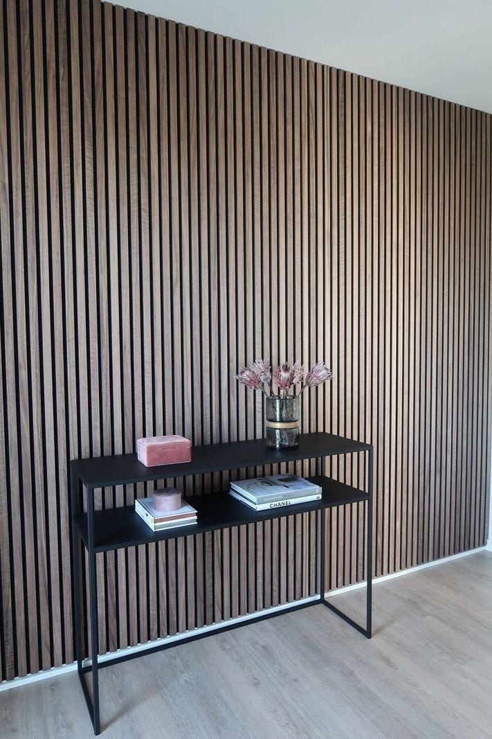 Acupanel Rustic Walnut Acoustic Wood Wall Panels In 2020 Wood Panel Walls Wood Slat Wall Acoustic Wall Panels