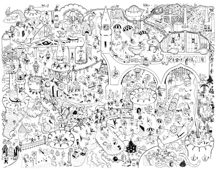 18 best crazy drawing images on Pinterest | Crazy drawings, City ...