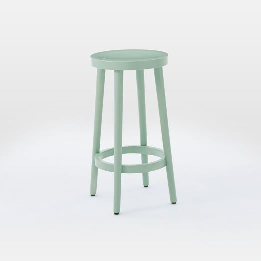 Cafe Bar + Counter Stool - Oregano | west elm