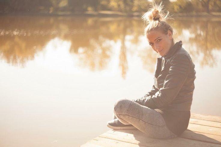 #Lake #stier #autumn #back light # sunshine