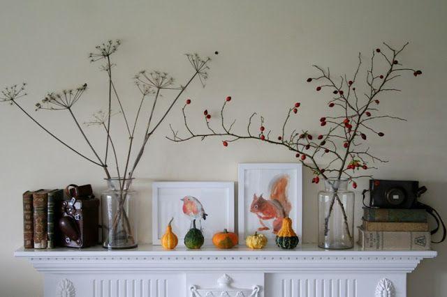 Saídos da Concha: Lareira de Outono :: Autumn Mantle