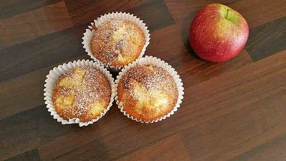 Apfel - Marzipan - Muffins