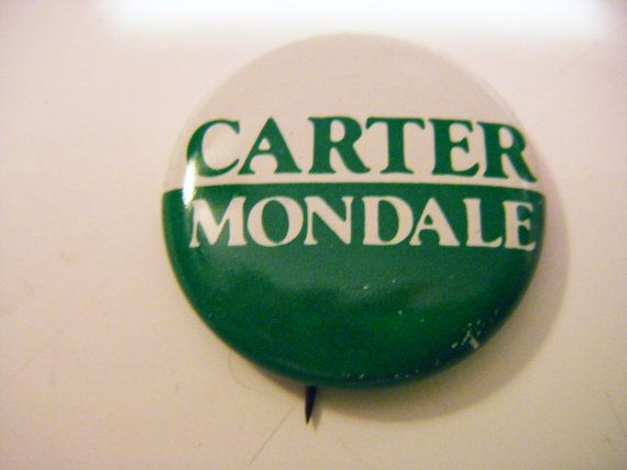 1970's Jimmy Carter Walter Mondale Presidential by parkledge, $40.00