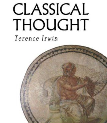 Classical Thought (History of Western Philosophy) PDF