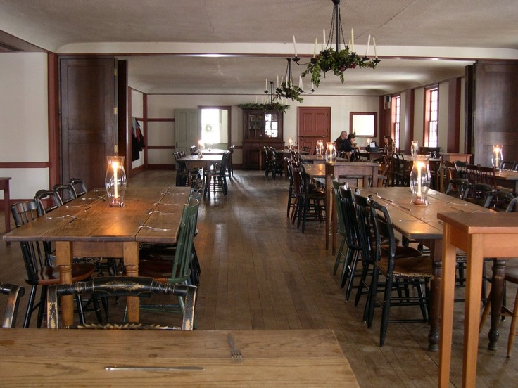 Not your typical restaurant, but we love the theme dinners at Greenfield Village's Eagle Tavern.