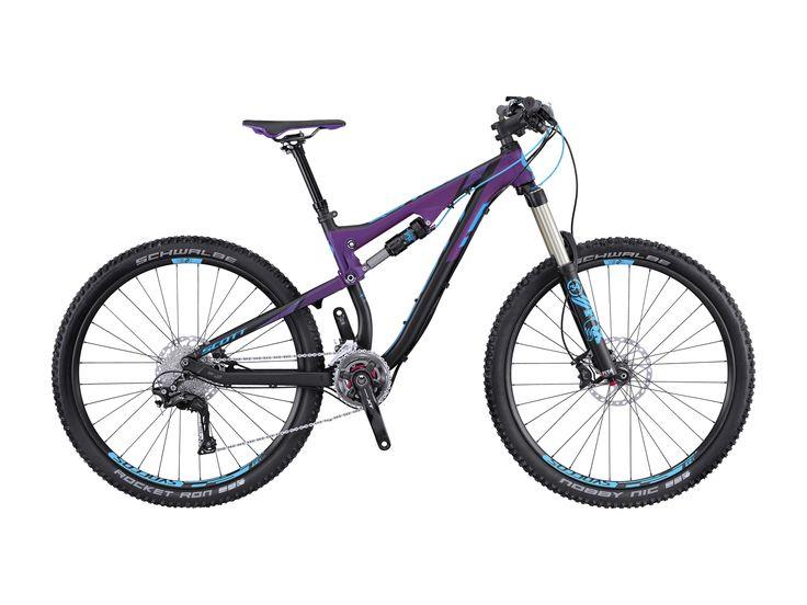 Scott Contessa Genius 710 2016, black/purple/blue - Mountainbike