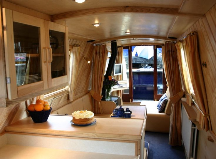 111 best images about canal boats on pinterest boats for Yacht interior design decoration