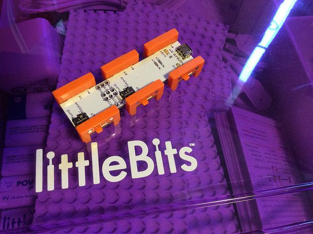 리틀비츠의 Arduino Board.