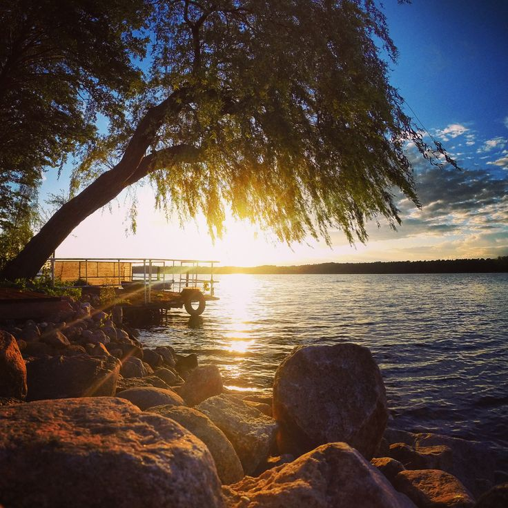 Sonnenuntergänge - Werbellinsee 2