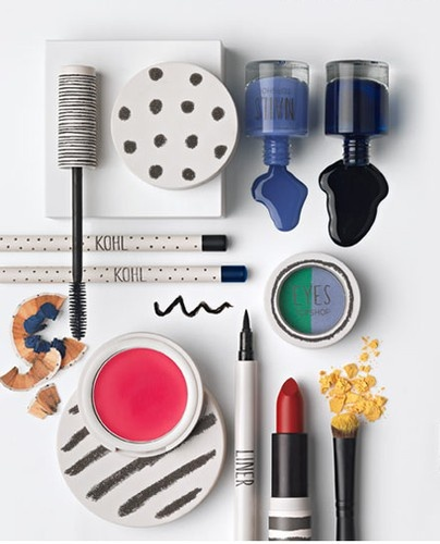 Topshop Make-up Packaging — Art Direction #fashion #ambience #styling