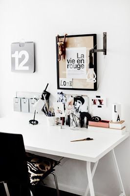 clean and modern work space