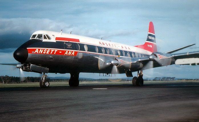 Ansett ANA Vickers Viscount 747 (VH-RMI)