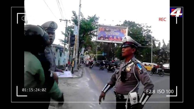 Polisi VS Gojek Nyaris Baku Hantam di Medan