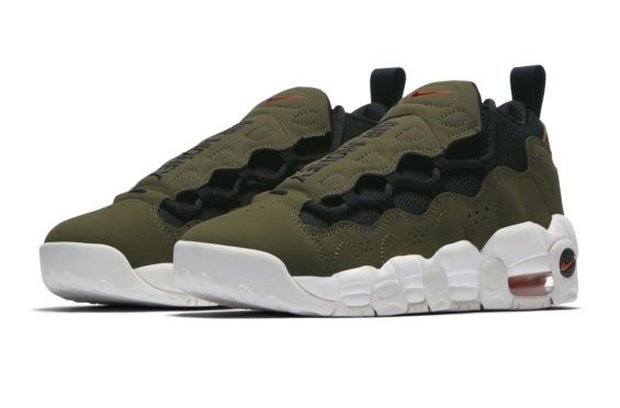 Nike Air More Money GS Olive Coming