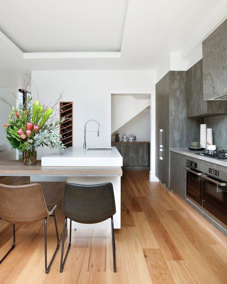 Caesarstone Coastal Grey Kitchen Caesarstone: 670 Best Caesarstone Kitchens Images On Pinterest