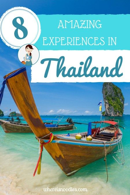 As my first backpacking trip outside of Europe, Thailand will always hold a special place in my heart. Here are 8 of my most memorable experiences...
