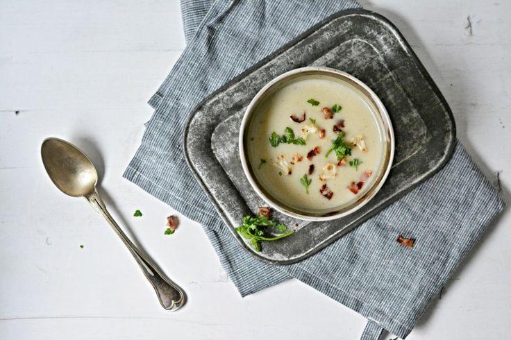 Kitchen story | Květáková polévka s parmezánem | http://www.kitchenstory.cz