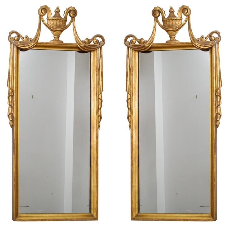 Pair of Neo-Classic Mirrors