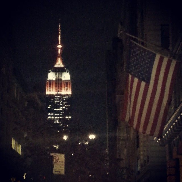 #nyc #newyork #halloween #EmpireStateBuilding  (en Empire State Building)