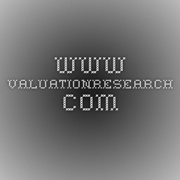 www.valuationresearch.com
