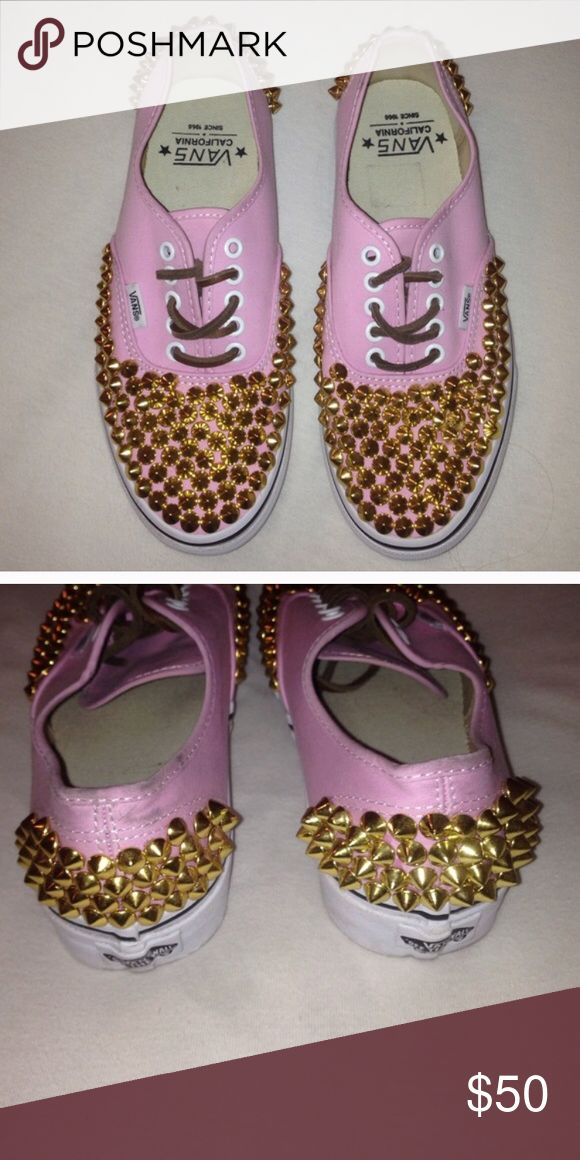 Studded vans Studded vans Vans Shoes Sneakers