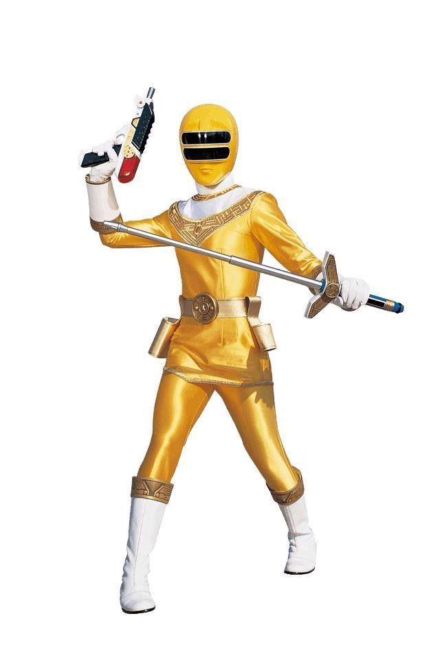 Power Rangers Zeo- Yellow Ranger