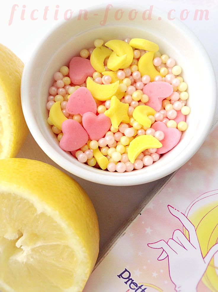 """Food Adventures (in fiction!): """"Sailor Moon"""" Inspired Doughnuts!"""