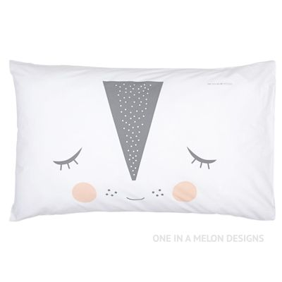 Pretty Pastel Pillowcase | Girls Room | One In A Melon Designs