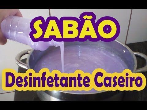 SABÃO DE PINHO CASEIRO LAVA E DESINFETA - MARAVILHOSO - YouTube