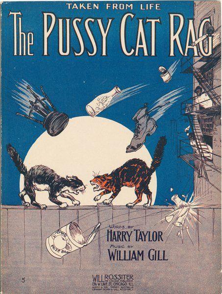 Sheet Music Cover Art, 1912