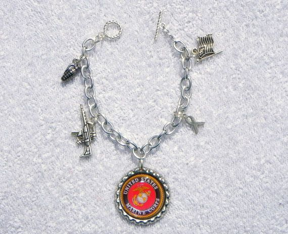 United+States+Marines+Inspired+Charm+by+LilSoldiersBoutique,+$8.00