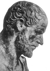 Aristotle - a towering figure in ancient Greek philosophy, making contributions to logic, metaphysics, mathematics, physics, biology, botany, ethics, politics, agriculture, medicine, dance and theatre. He was a student of Plato who in turn studied under Socrates. He was more empirically-minded than Plato or Socrates and is famous for rejecting Plato's theory of forms.