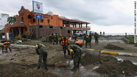 Hurricane Patricia weakens in Mexico; flood threat remains - CNN.com