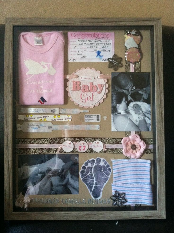 baby shadow box | Baby Shadow Boxes