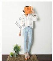 Celana Panjang Wanita Bahan Jean