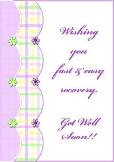 Magic image within get well card printable