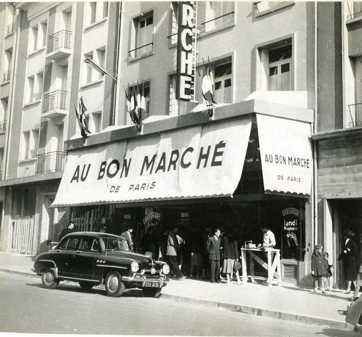 """Brest  - """"Au Bon Marché"""" puis """"Prisunic"""" puis """"Shopi"""", Puis """"Le Tram"""" - Rue de Siam"""